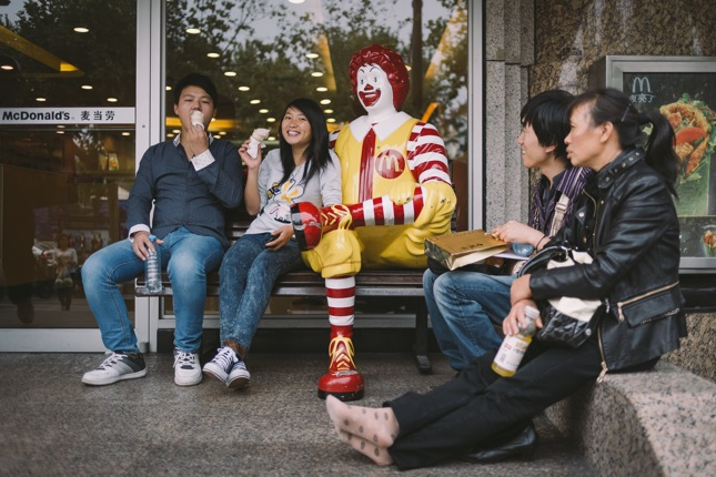 Ronald tunnetaan myös Aasiassa. Kuva: Niko Jekkonen