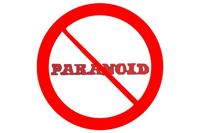 Älä soita paranoidia
